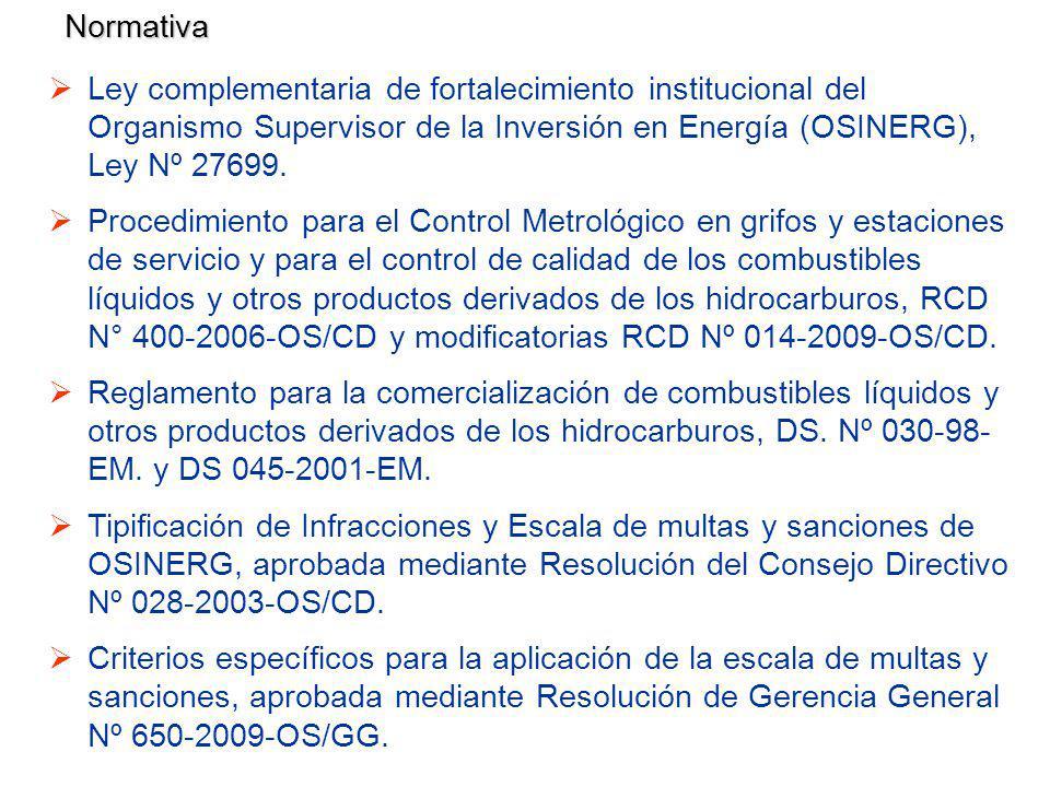Ley complementaria de fortalecimiento institucional del Organismo Supervisor de la Inversión en Energía (OSINERG), Ley Nº 27699.