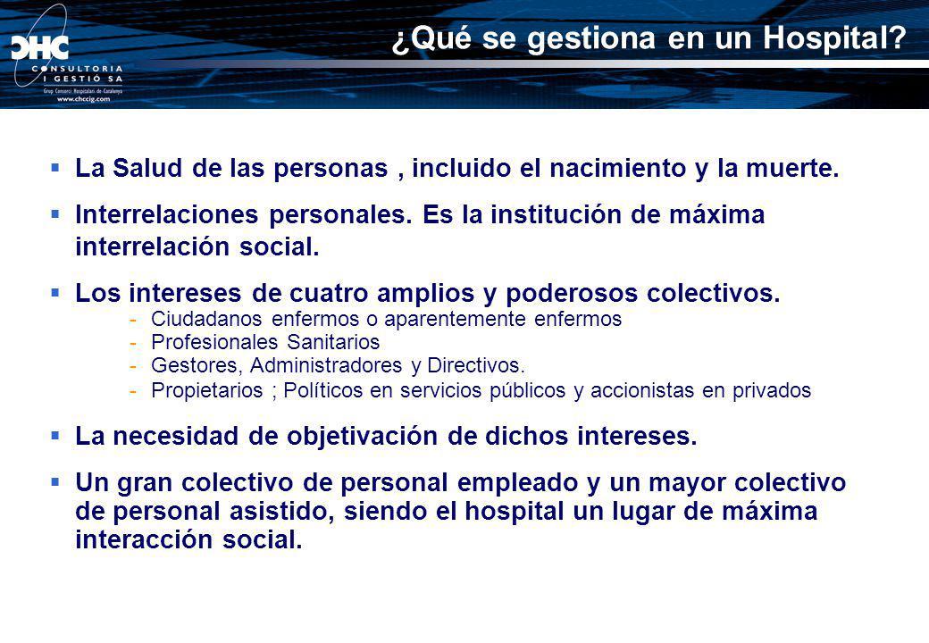 El Cliente externo: Centro y Protagonista del Hospital El Cliente interno: Los profesionales y trabajadores principal activo del hospital ¿Quién es el cliente?