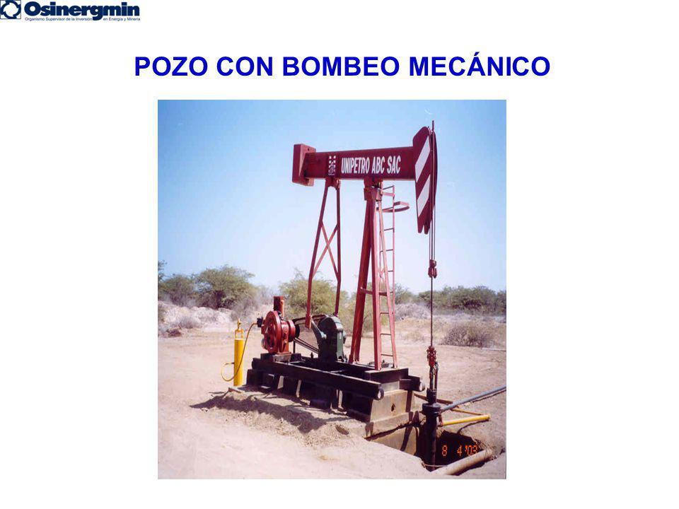 POZO CON BOMBEO MECÁNICO