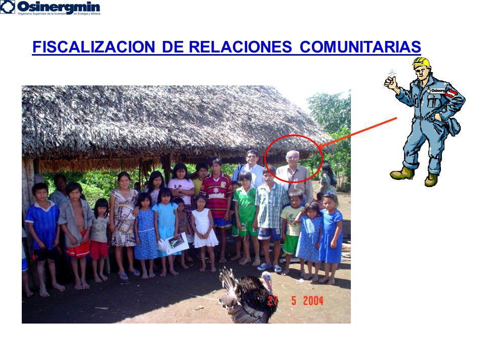 FISCALIZACION DE RELACIONES COMUNITARIAS
