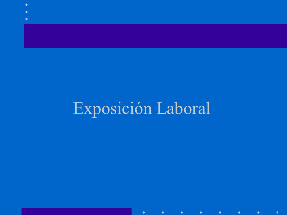 Exposición Laboral