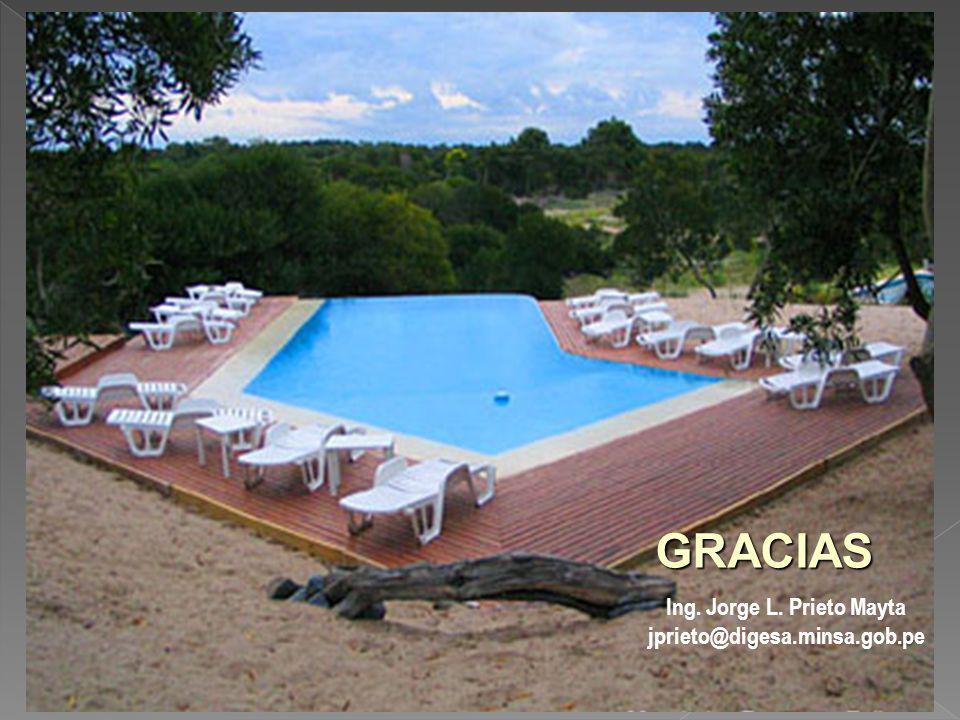 GRACIAS Ing. Jorge L. Prieto Mayta jprieto@digesa.minsa.gob.pe
