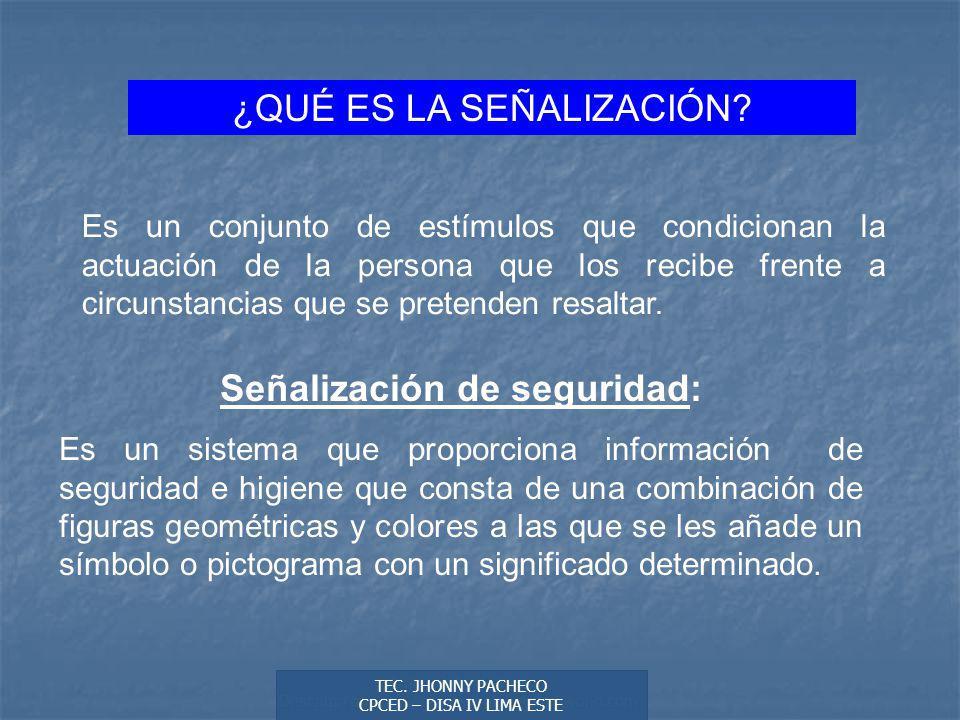 Autor: Didier Sibaja Descarga ofrecida por: www.prevention-world.com ¿QUÉ ES LA SEÑALIZACIÓN.