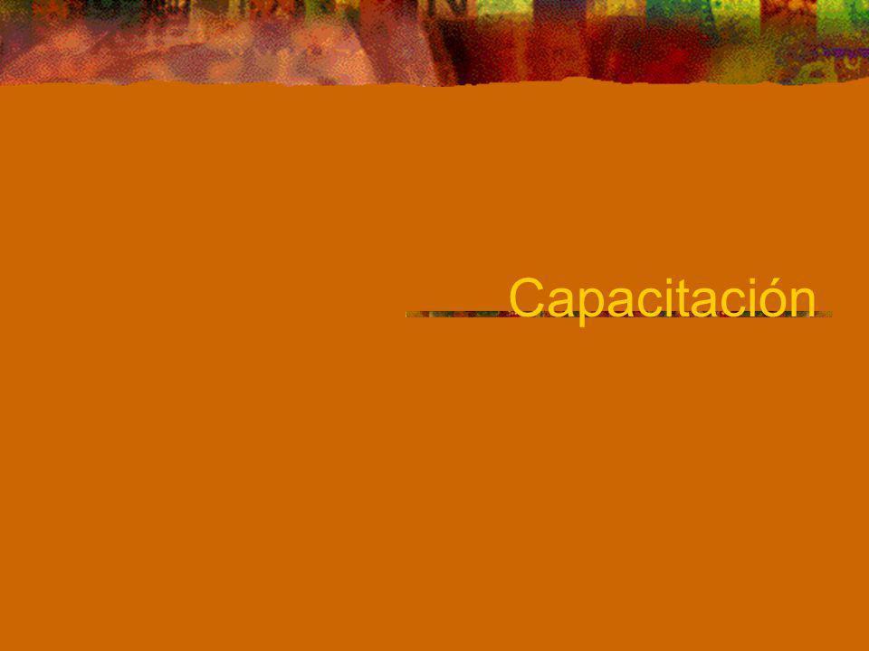 Capacitación