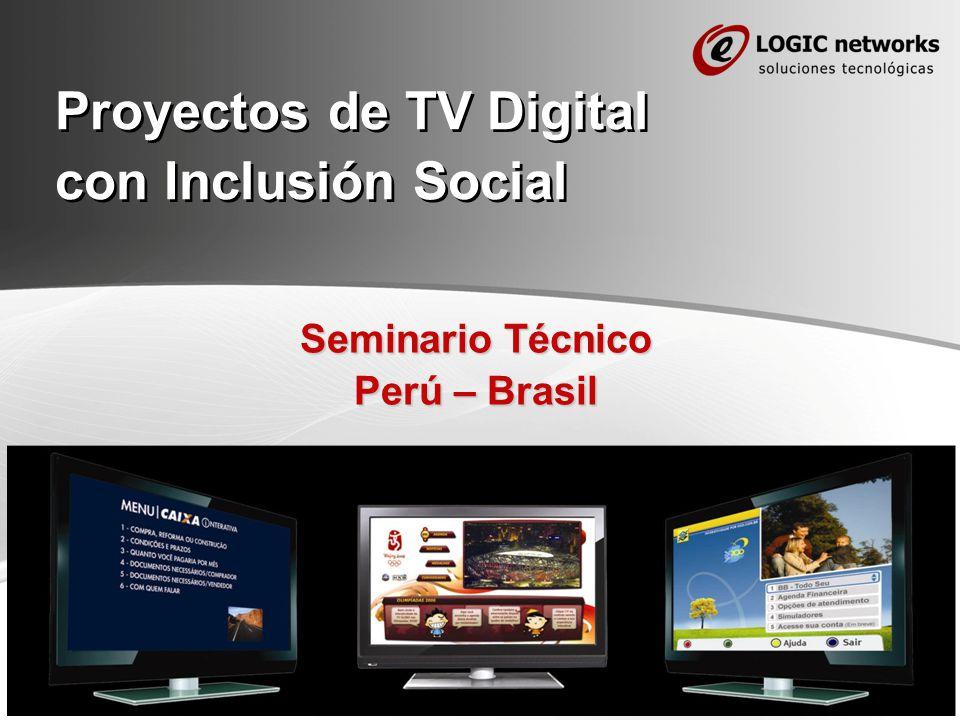 Page 1 Proyectos de TV Digital con Inclusión Social Seminario Técnico Perú – Brasil