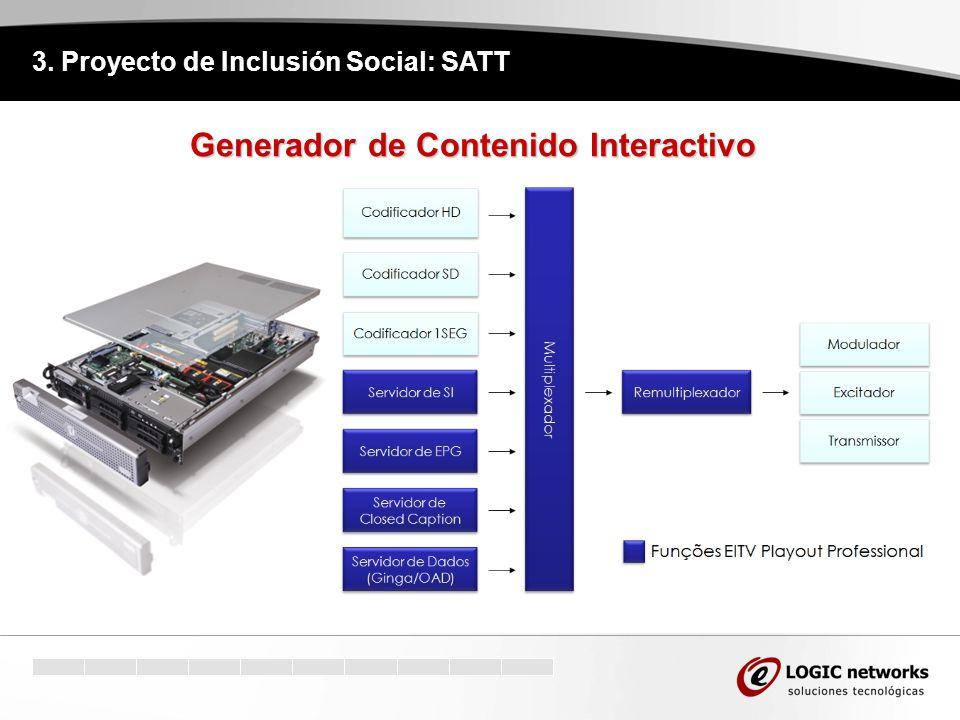 3. Proyecto de Inclusión Social: SATT Generador de Contenido Interactivo