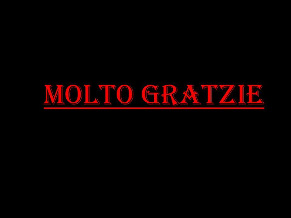 MOLTO GRATZIE