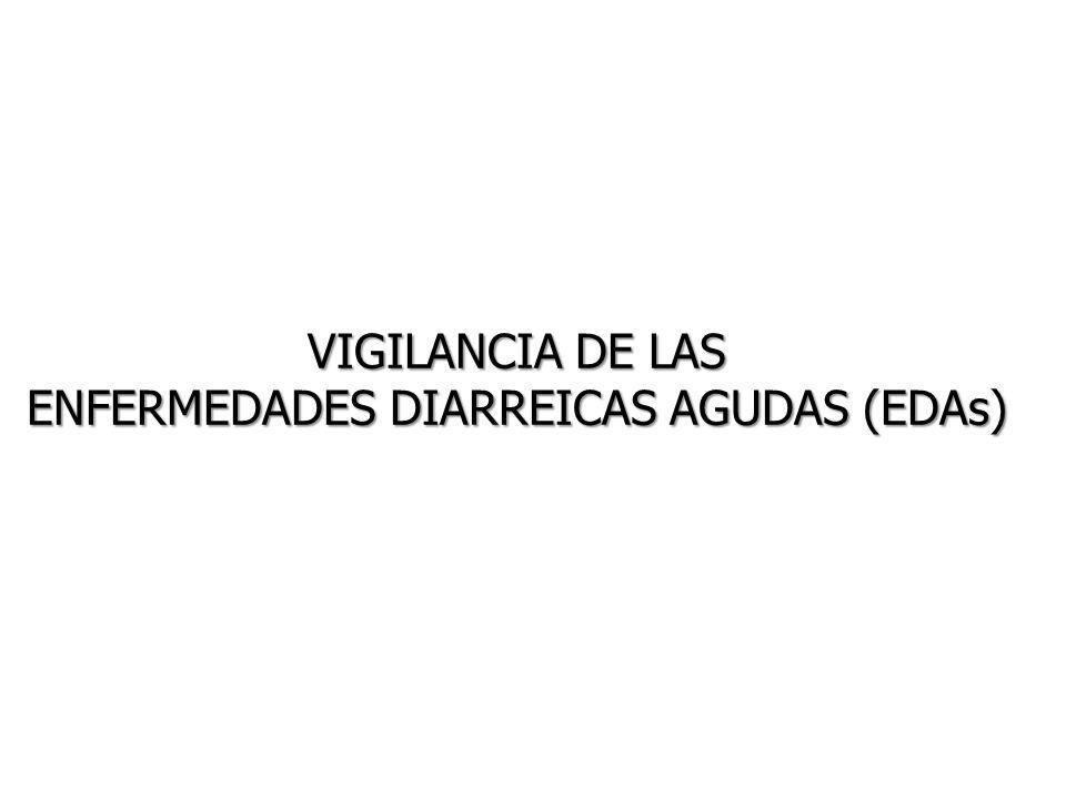 VIGILANCIA DE LAS ENFERMEDADES DIARREICAS AGUDAS (EDAs)