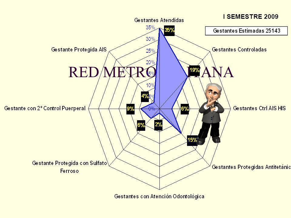 RED METROPOLITANA I SEMESTRE 2009