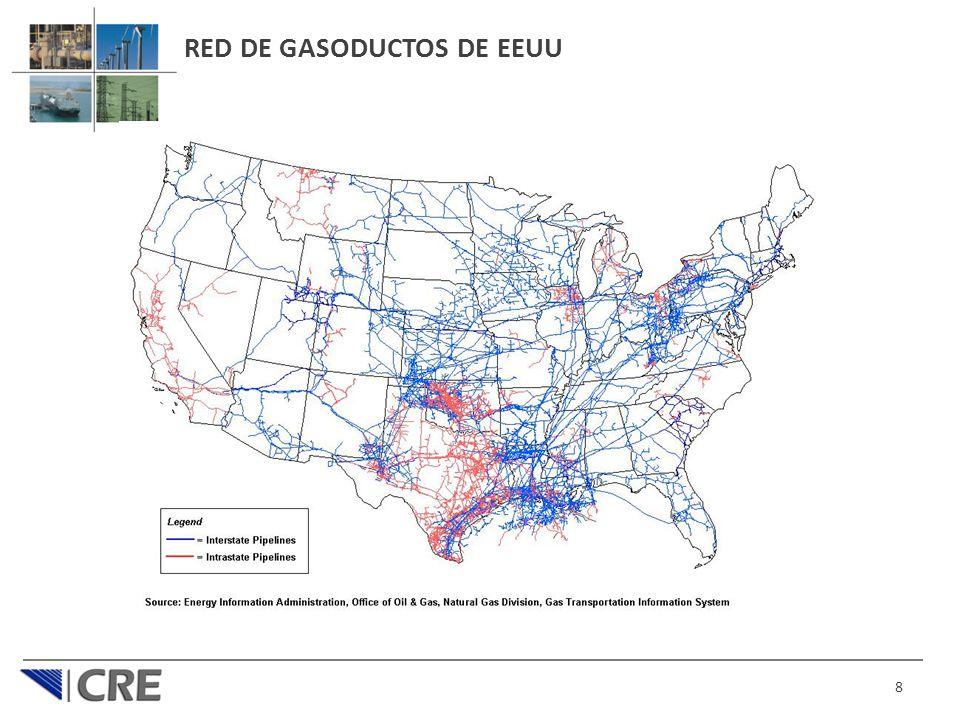 RED DE GASODUCTOS DE EEUU 8