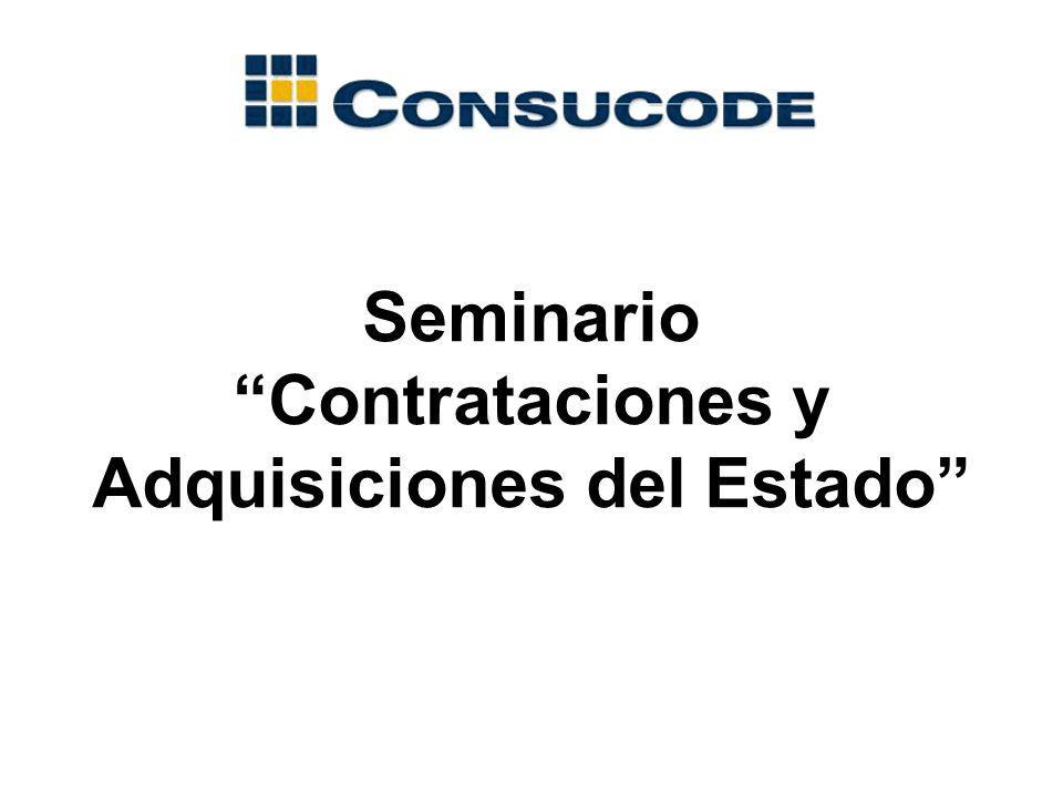 CONVOCATORIA ABSOLUCIÓN DE CONSULTAS PRESENTACIÓN DE CONSULTAS VENTA DE BASES SUSCRIPCIÓN DEL CONTRATO OTORGAMIENTO DE LA BUENA PRO FORMULACIÓN DE OBSERVACIONES E INTEGRACIÓN EVALUACIÓN DE PROPUESTAS PRESENTACIÓN DE PROPUESTAS IMPUGNACIÓN CONSENTIMIENTO PUBLICACIÓN Etapas de los Procesos de Selección