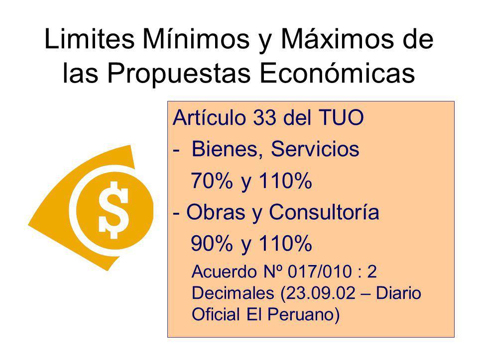 Factores de Evaluación Económica y Cálculo del Costo Total Bienes y Suministros, Servicios en General, Consultorías y Obras