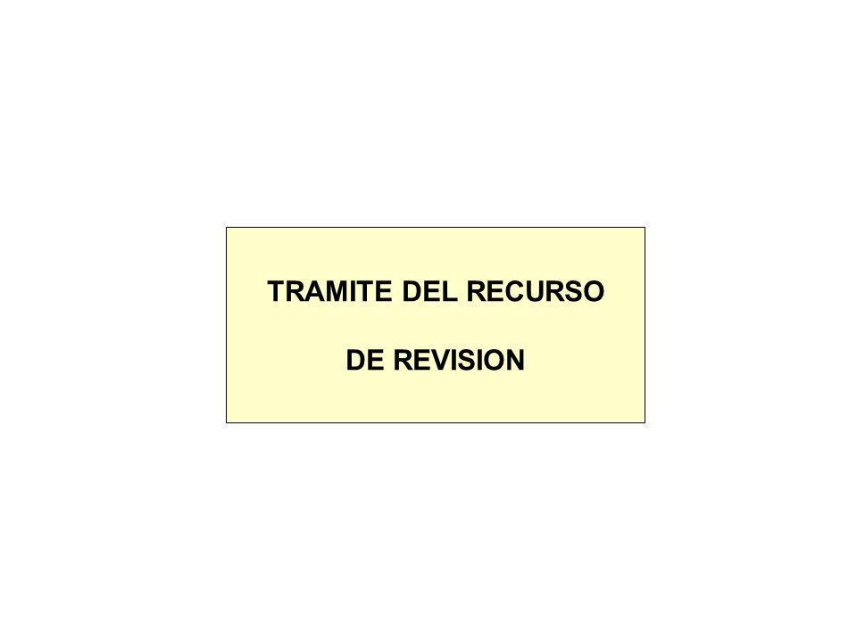 ¿QUE SE PUEDE IMPUGNAR MEDIANTE EL RECURSO DE REVISION.