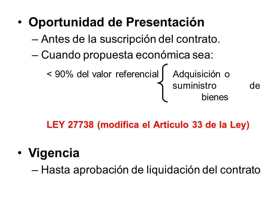 Garantía adicional por el monto diferencial de la propuesta (Art. 123 del Reg.) Finalidad –Garantizar fiel cumplimiento de obligaciones asumidas por c