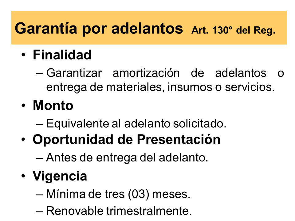 Oportunidad de Presentación –Antes de la suscripción del contrato.