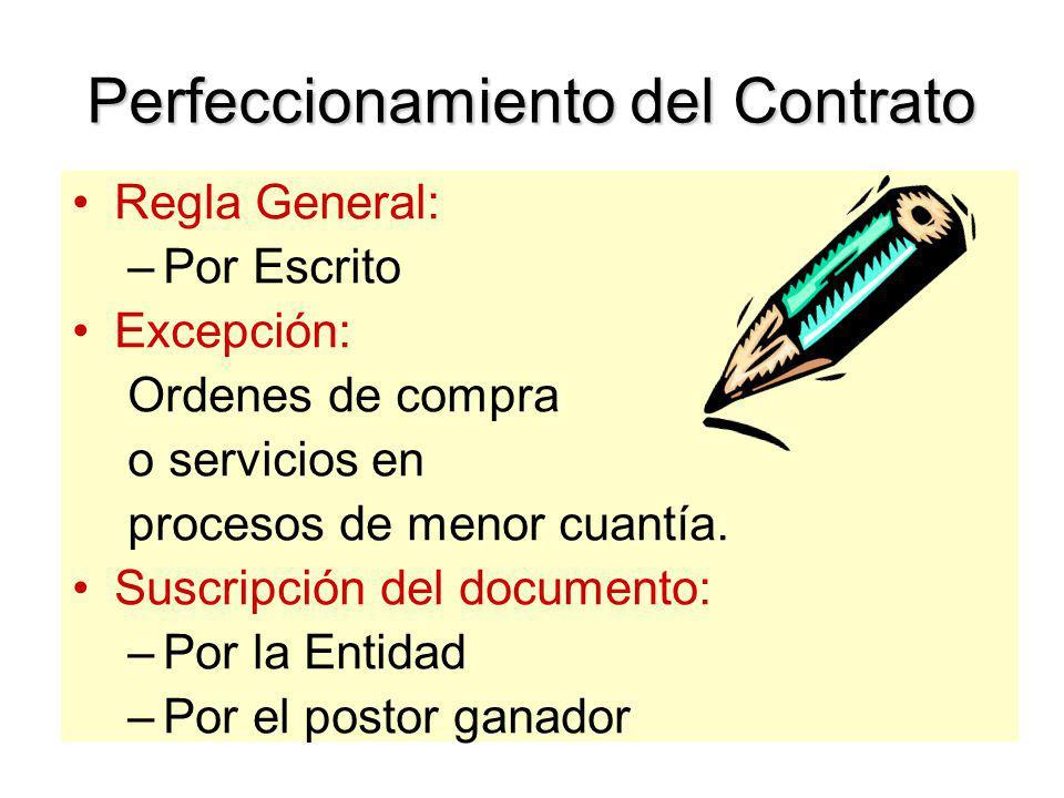 Procedimiento para la Suscripción Negativa del postor a suscribir el contrato: Citación al ganador hasta en dos oportunidades. De no concurrir se debe