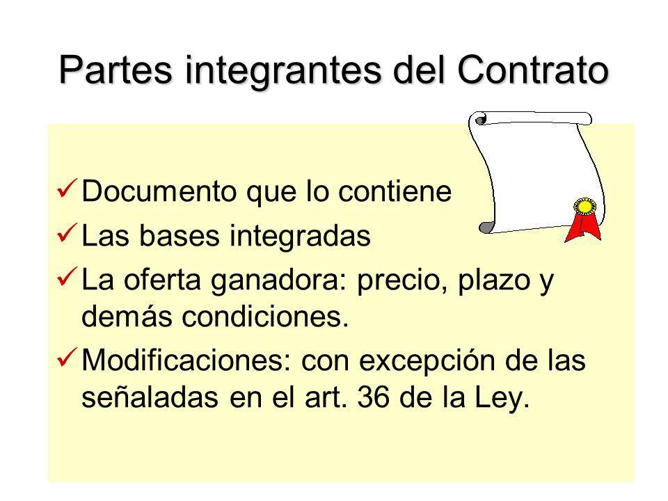Perfeccionamiento del Contrato Regla General: –Por Escrito Excepción: Ordenes de compra o servicios en procesos de menor cuantía.