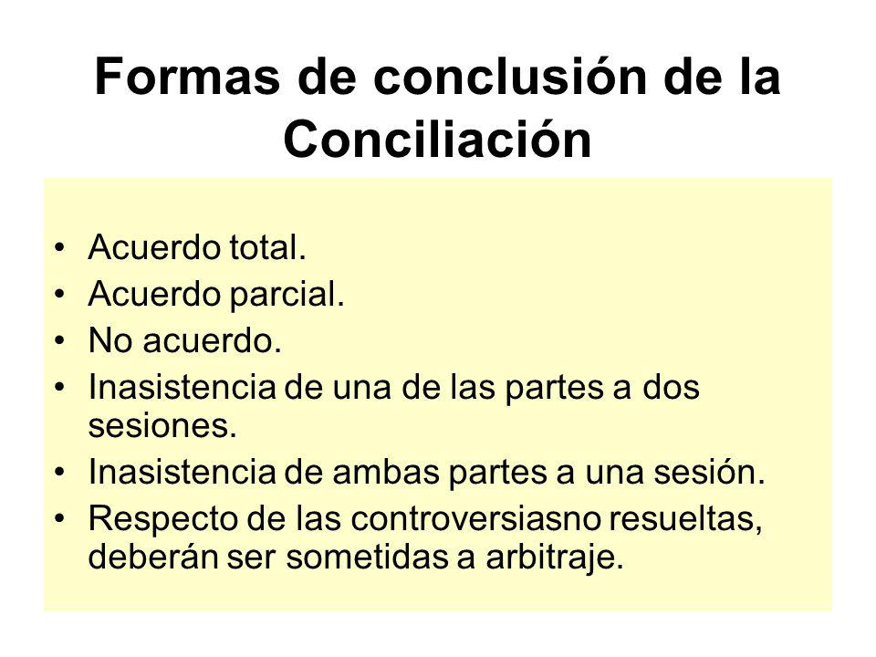 Plazos y la oportunidad para solicitar la Conciliación Desde surgida la controversia hasta antes que quede consentida la liquidación final. La solicit