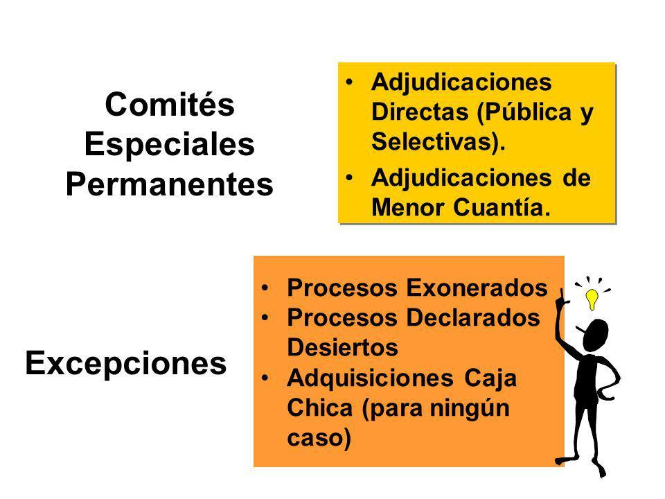 Designación del Comité Especial Mediante Resolución expresa de la máxima autoridad de la institución.