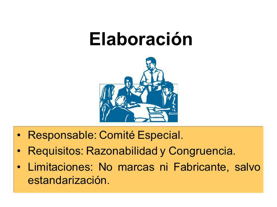 Información Previa Información sobre la cantidad y características del bien, servicio u obra; Valor referencial Sistema o modalidad Recursos asignados