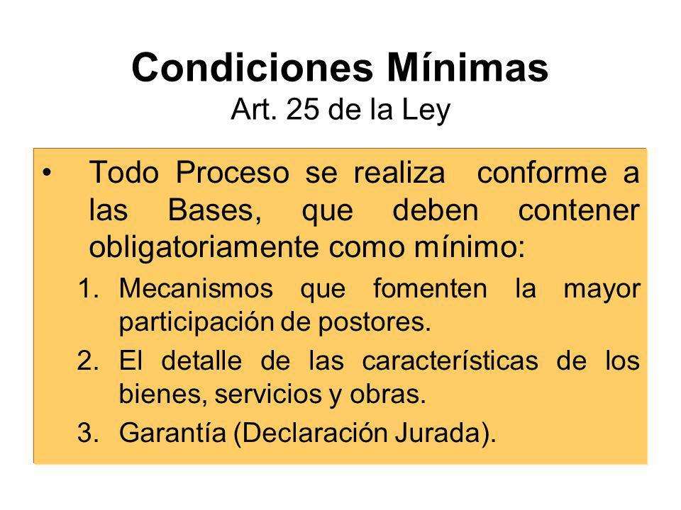 Elaboración Responsable: Comité Especial. Requisitos: Razonabilidad y Congruencia. Limitaciones: No marcas ni Fabricante, salvo estandarización.