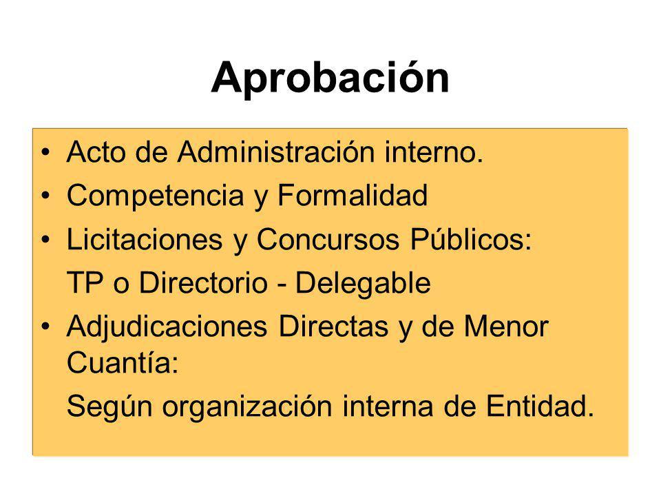 Además…..4.Sistema de adjudicación a seguir. 5.Modalidades.