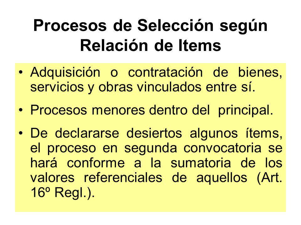 MONTOS PARA CONVOCAR A PROCESOS DE SELECCIÓN ENTIDADES BAJO EL AMBITO DE FONAFE LICITACIÓN PÚBLICA CONCURSO PÚBLICO ADJ.