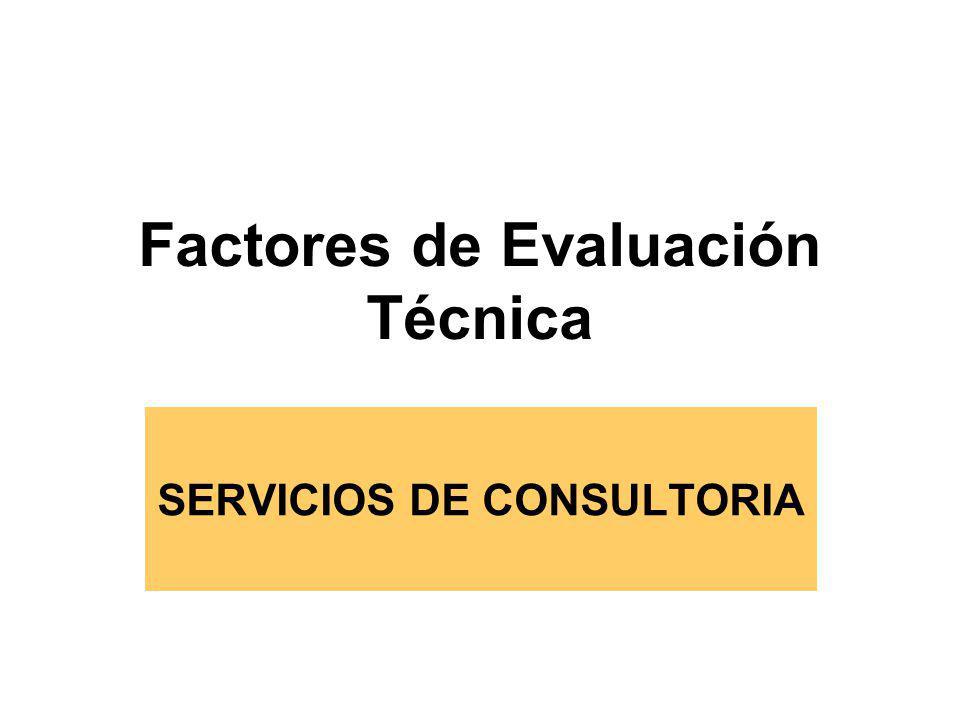 Se califica sobre 100 puntos Evaluación y Calificación de acuerdo a bases Propuestas Técnicas que no alcancen puntaje mínimo serán descalificadas (80