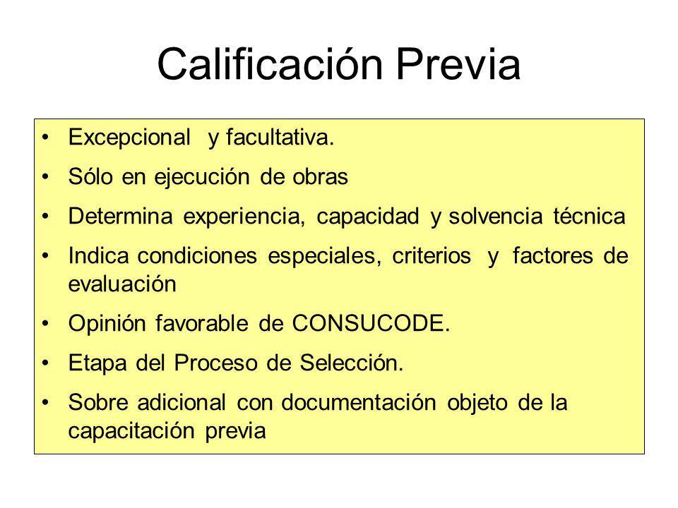 Evaluación Técnica Ejemplo Plazo de Ejecución 15 Puntos Princip obras ejecutadas 5 Obras similares 10 Expe y Calif del personal 8 Oferta de cont. Trab