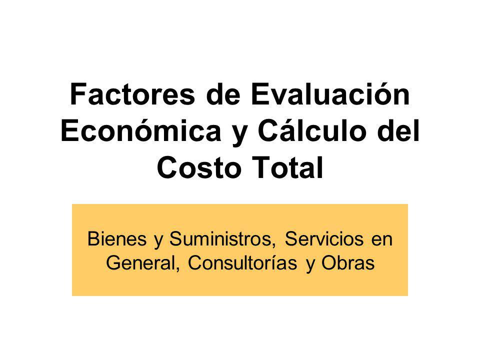 Calificación Previa Excepcional y facultativa.