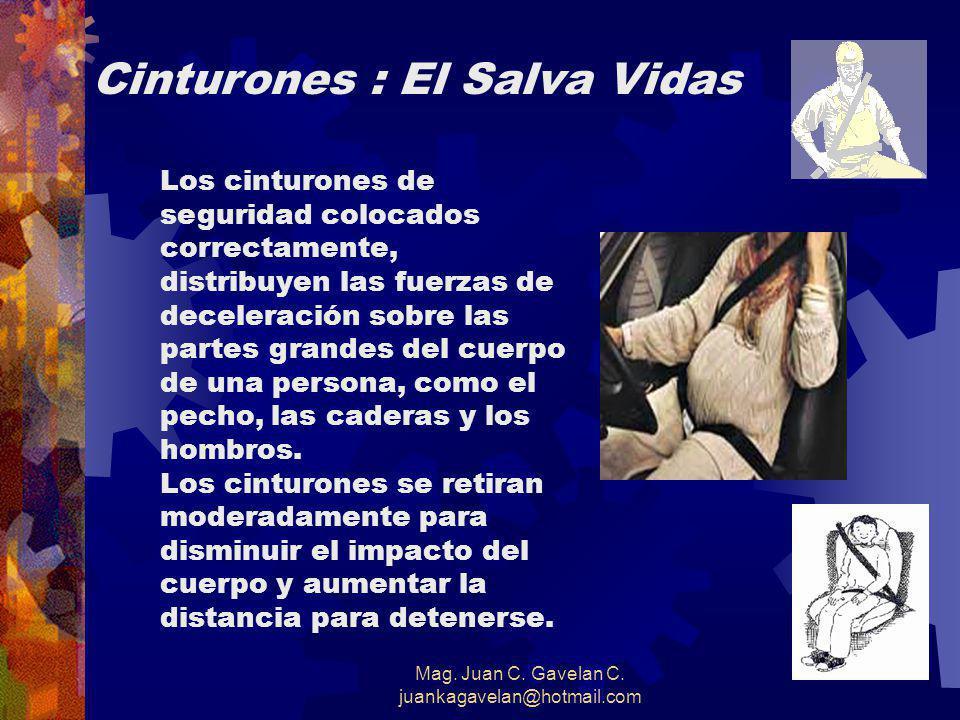 Mag. Juan C. Gavelan C. juankagavelan@hotmail.com CHOQUE CON EL VEHÍCULO DE ADELANTE DEFENSAS PARA EVITARLO: 1. MANTENERSE ALERTA 2. ANTICIPARSE A LA