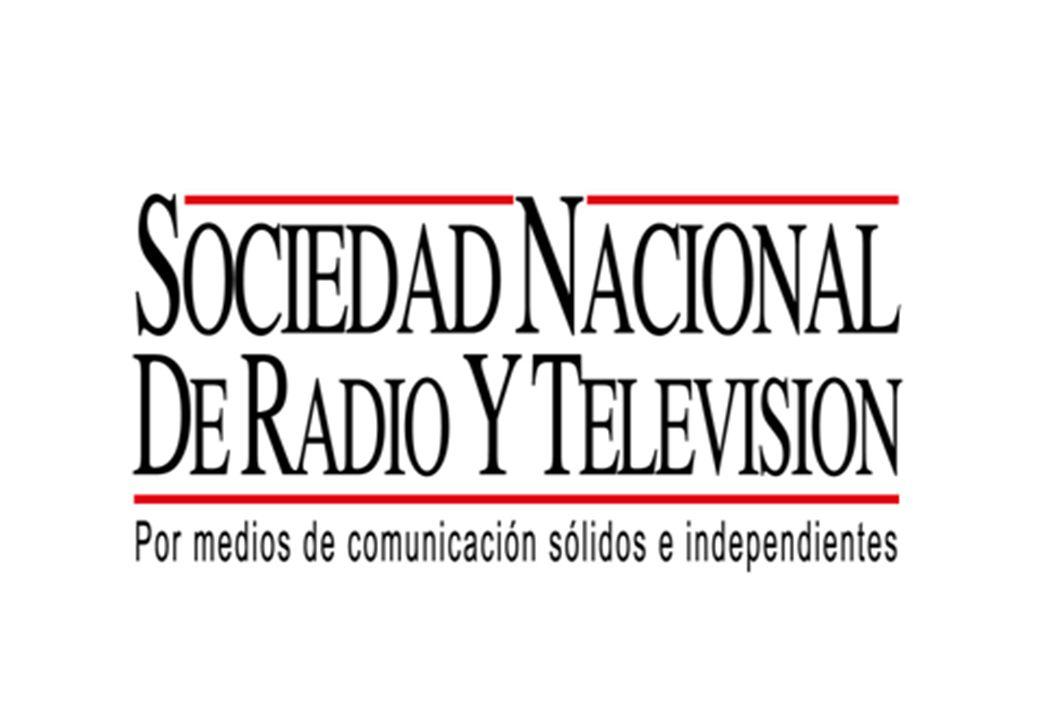 Presentación La Sociedad Nacional de Radio y Televisión se constituye en el año 2004, uniendo a las empresas de radio y televisión más importantes del países.