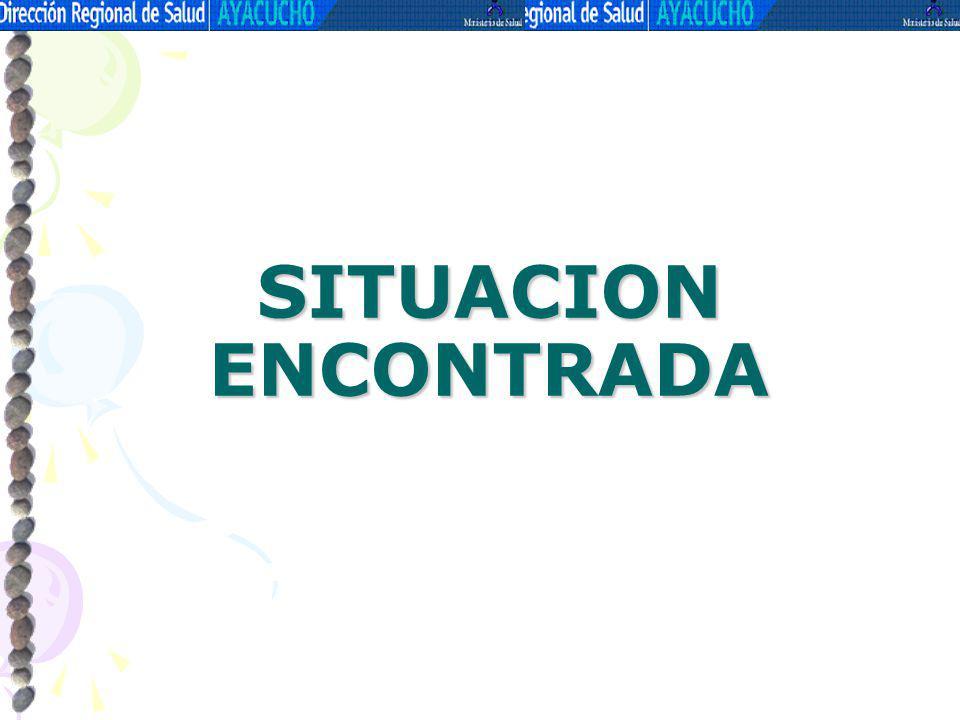 DELIMITACION DE REDES La Dirección Región de Salud Ayacucho esta conformado por 07 Redes de Salud y 30 microrredes.