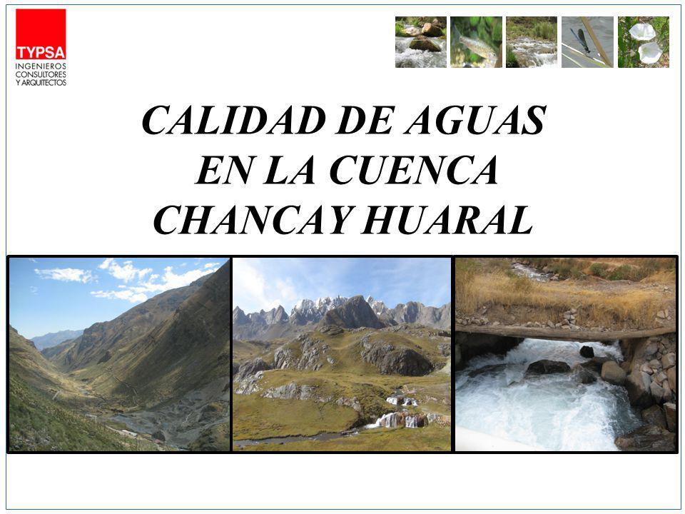 CALIDAD DE AGUAS EN LA CUENCA CHANCAY HUARAL