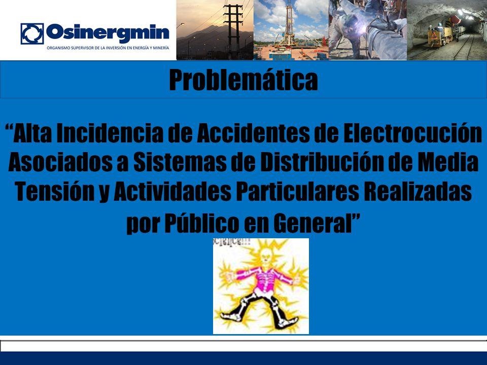 Problemática Alta Incidencia de Accidentes de Electrocución Asociados a Sistemas de Distribución de Media Tensión y Actividades Particulares Realizada