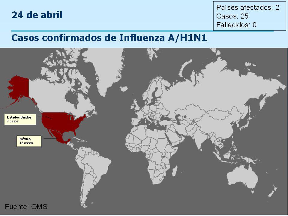 Programa Ampliado de Inmunizaciones Control de Brotes de Influenza Estimación de periodos de importancia epidemiológica para el control de un brote de influenza a partir del incio de síntomas de un caso índice.