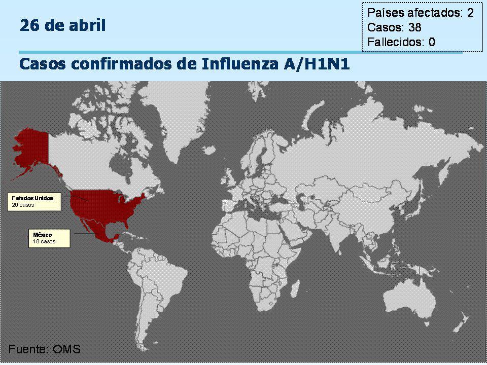 Programa Ampliado de Inmunizaciones Control de Brotes de Influenza Estimación del periodos para considerar la interrupción de la transmisión de influenza considerando tres periodos máximos de incubación.