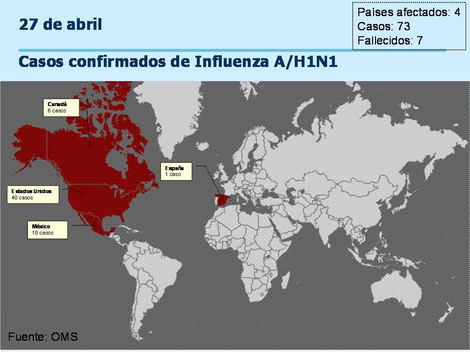 Programa Ampliado de Inmunizaciones Control de Brotes de Influenza Estimación del periodos para considerar la interrupción de la transmisión de influenza considerando tres periodos máximos de transmisión.