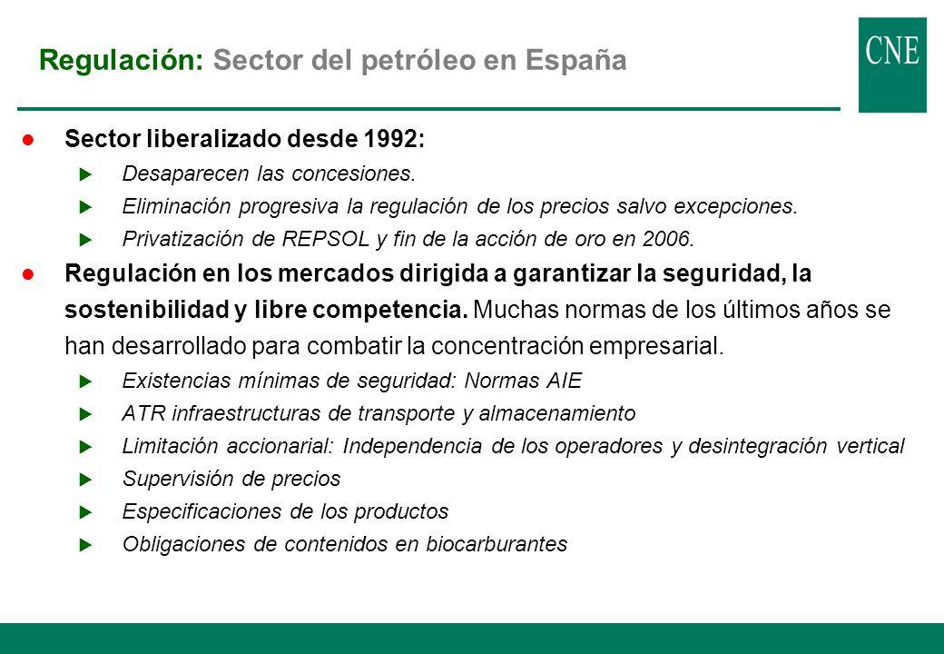 1.Regulación desde 1972.Ha ido adaptándose a la normativa de la AIE y la UE.