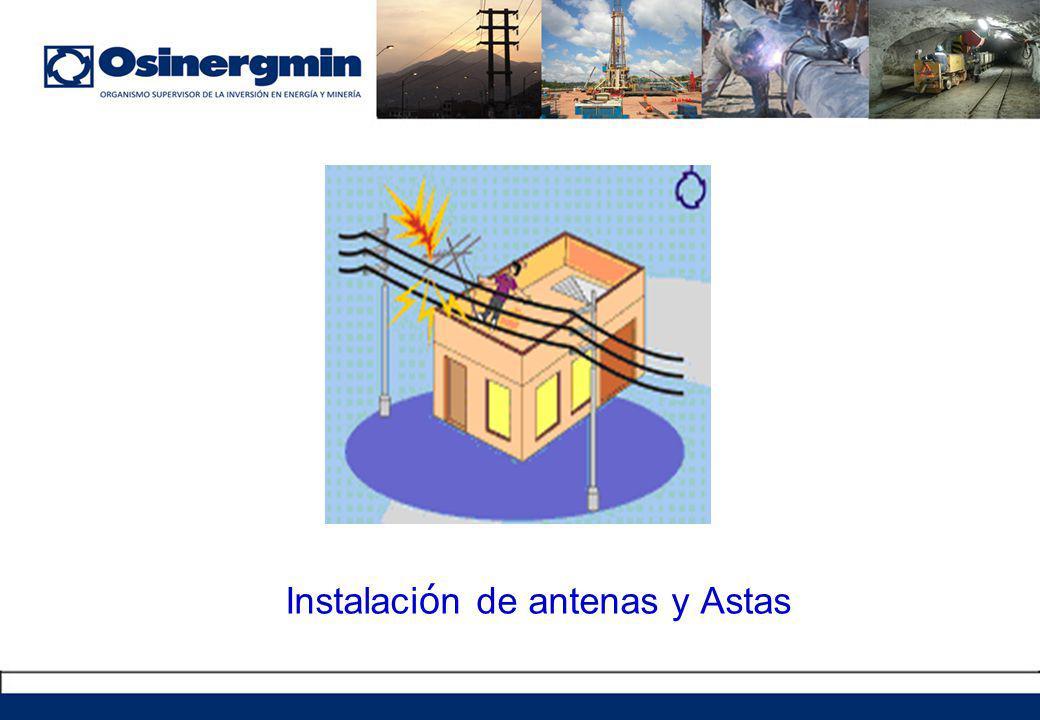 Instalaci ó n de antenas y Astas