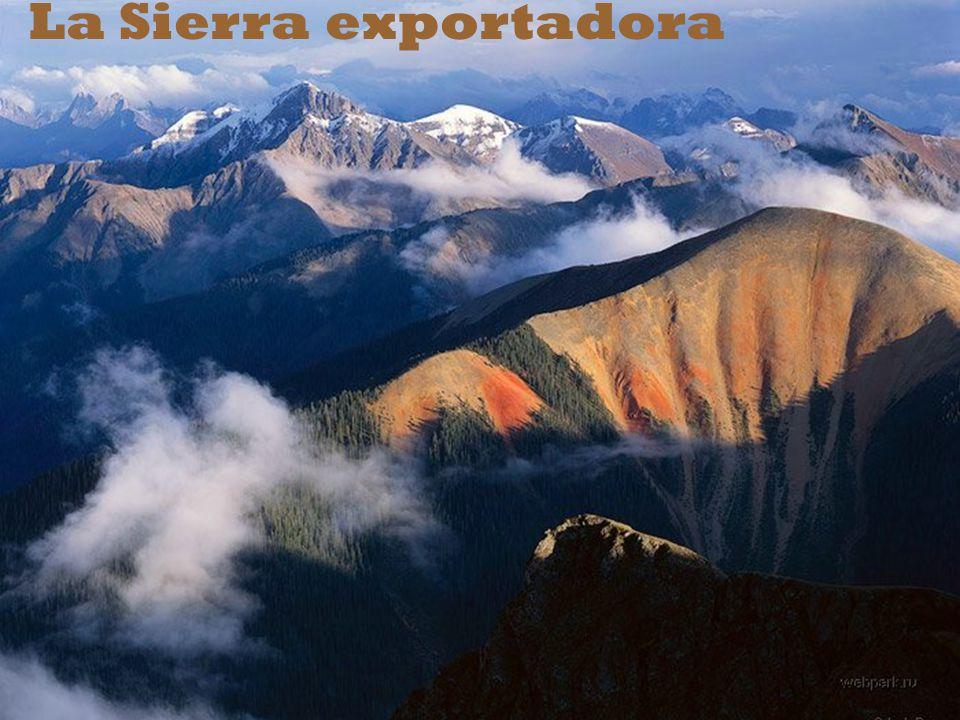 La lucha contra la pobreza a través de la inclusión productiva de la sierra andina.