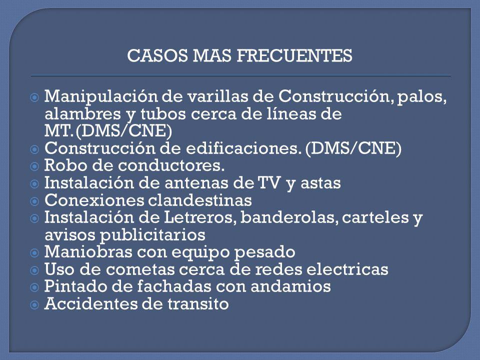 CAUSALIDAD DE ACCIDENTES POR ELECTROCUCIÓN EN EL ENTORNO RELACIONADAS CON REDES ELECTRICAS DE MEDIA Y BAJA TENSION