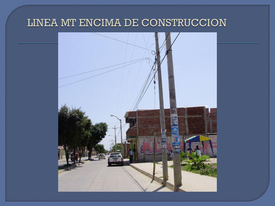 CONSTRUCCIONES TIPICAS QUE INCUMPLEN CON LAS DMS SEGUN LO ESTABLECE EL CODIGO NACIONAL DE ELECTRICIDAD - SUMINISTRO