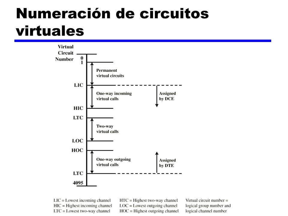 Numeración de circuitos virtuales