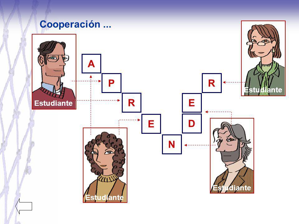 Cooperación... Estudiante APNRRE D E
