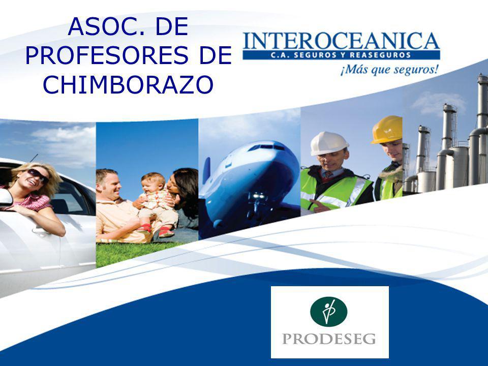 ASOC. DE PROFESORES DE CHIMBORAZO