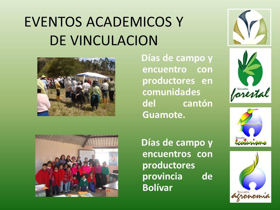 Días de campo y encuentro con productores en comunidades del cantón Guamote.