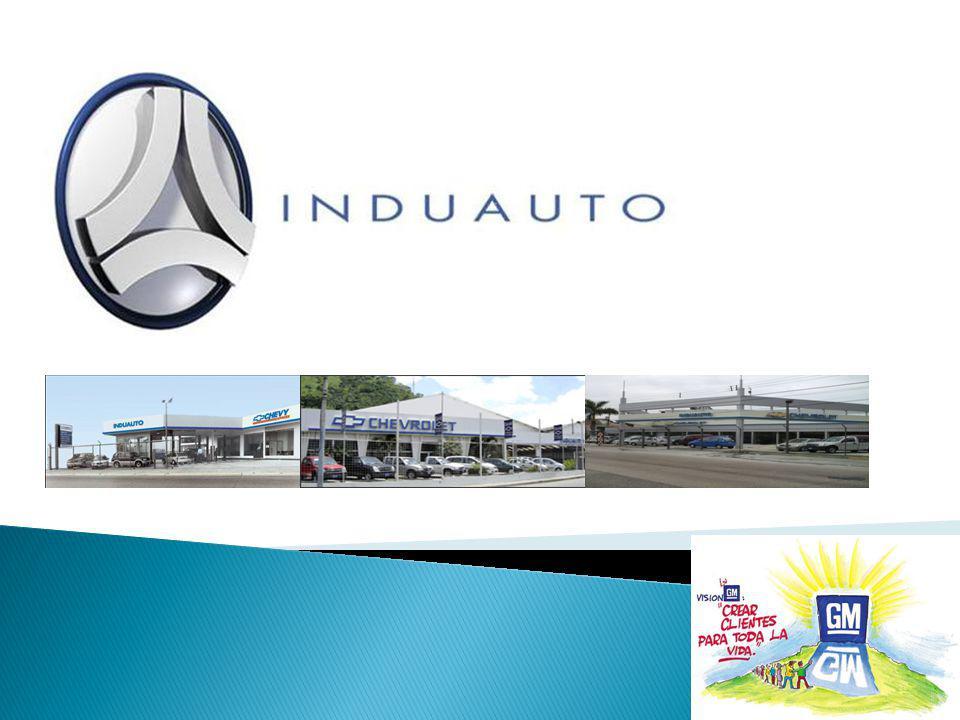 Compañía INDUAUTO, líder en la comercialización de vehículos con el respaldo de la prestigiosa marca Chevrolet Concesionario autorizado en toda la red.