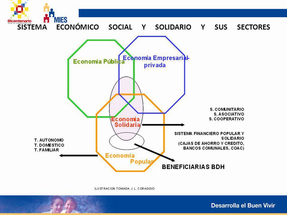 SISTEMA ECONÓMICO SOCIAL Y SOLIDARIO Y SUS SECTORES