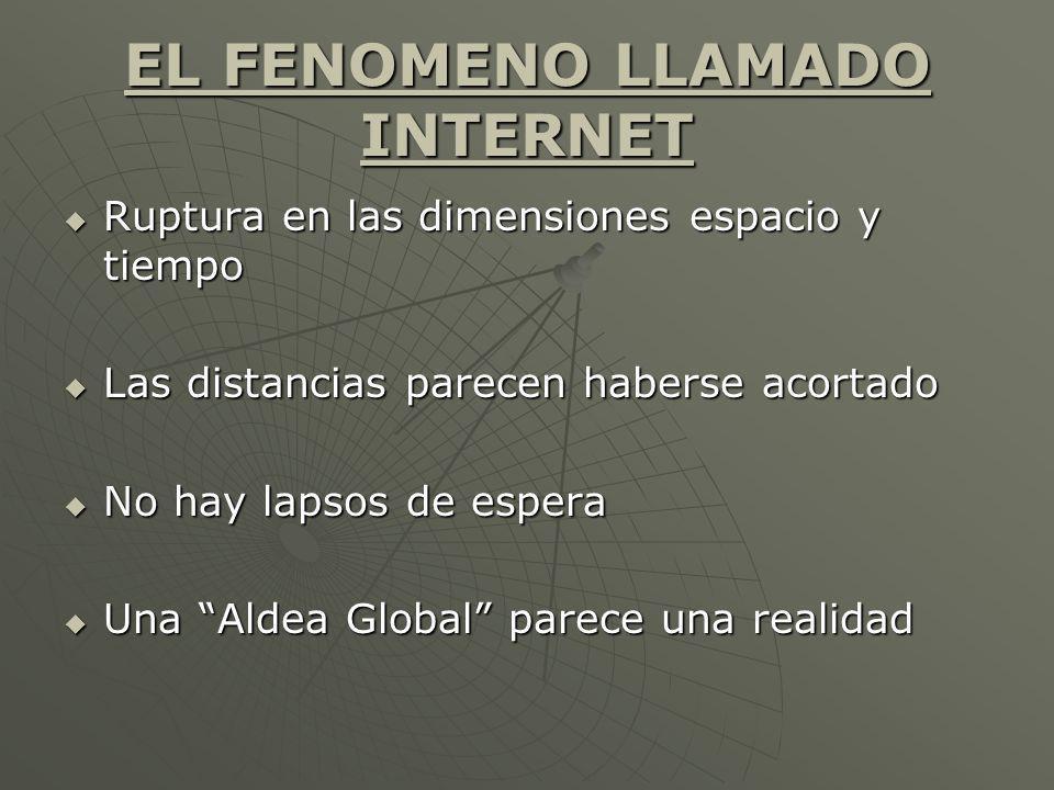 Políticas para ampliar el uso y los beneficios de Internet.